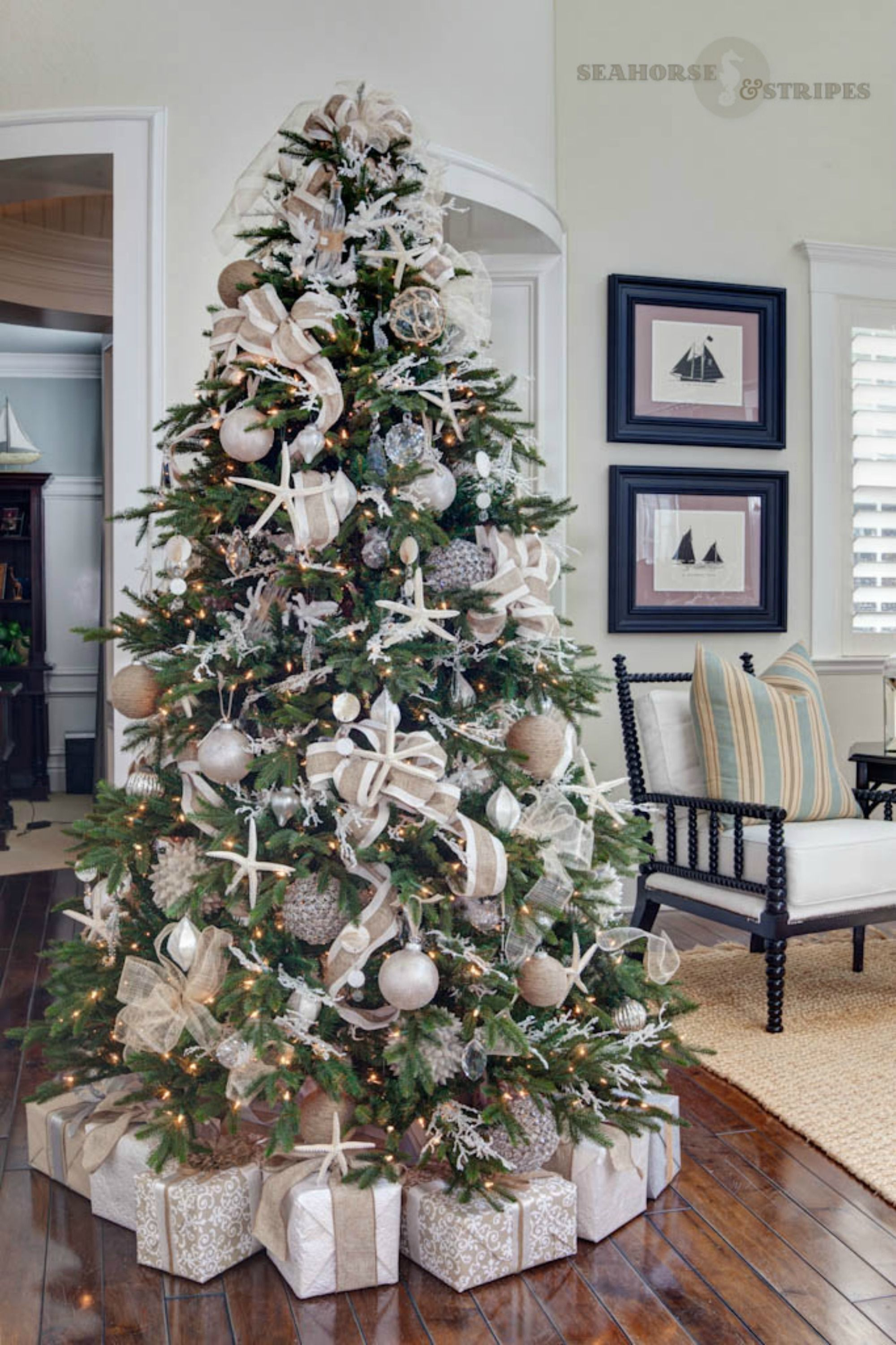 33 Unique Christmas Tree Decoration Ideas Pictures Of Decorated Trees