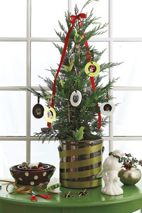Christmas Decorating Ideas Personalized Mini Tree