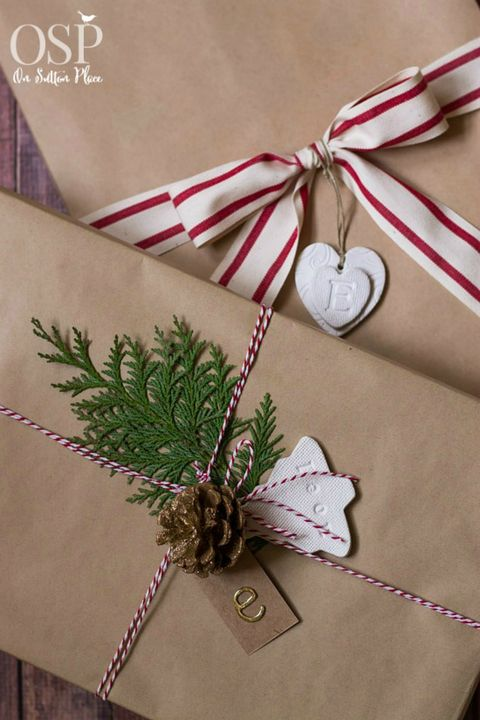 Gift Wrapping Ideas Add a Rustic Touch