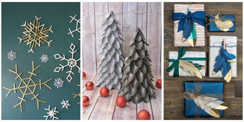 Assemble These Easy To Make Ornaments Stockings Gifts And More