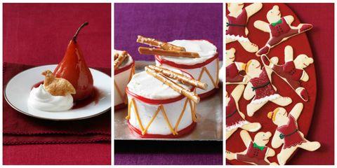 Food, Cuisine, Dessert, Dish, Bavarian cream, Baked goods, Cake,