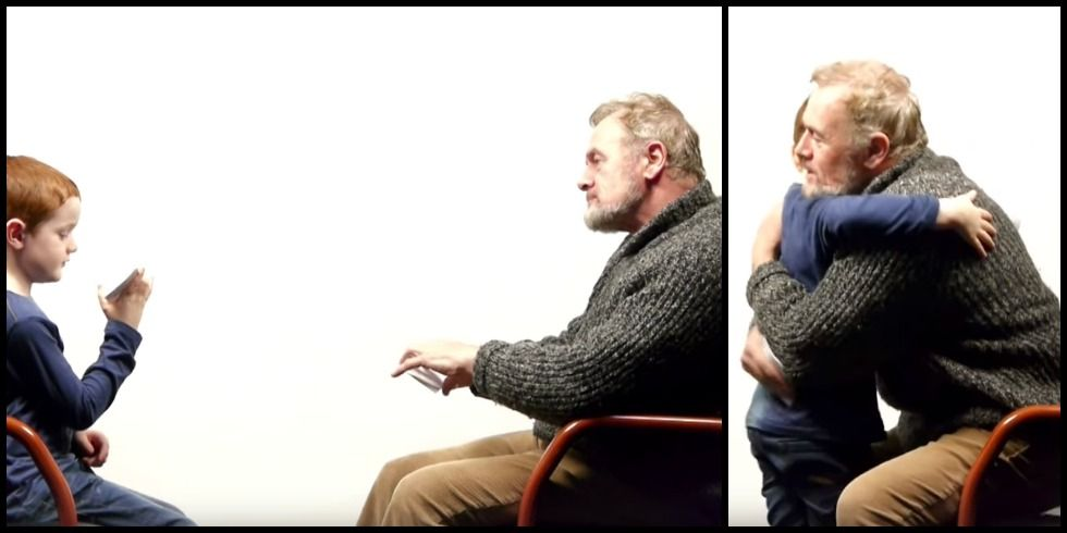 A 7-Year-Old Boy and a 64-Year-Old Man Ponder the Meaning of Life In