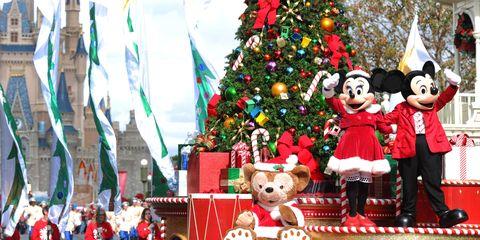 image - Disneyworld At Christmas Time