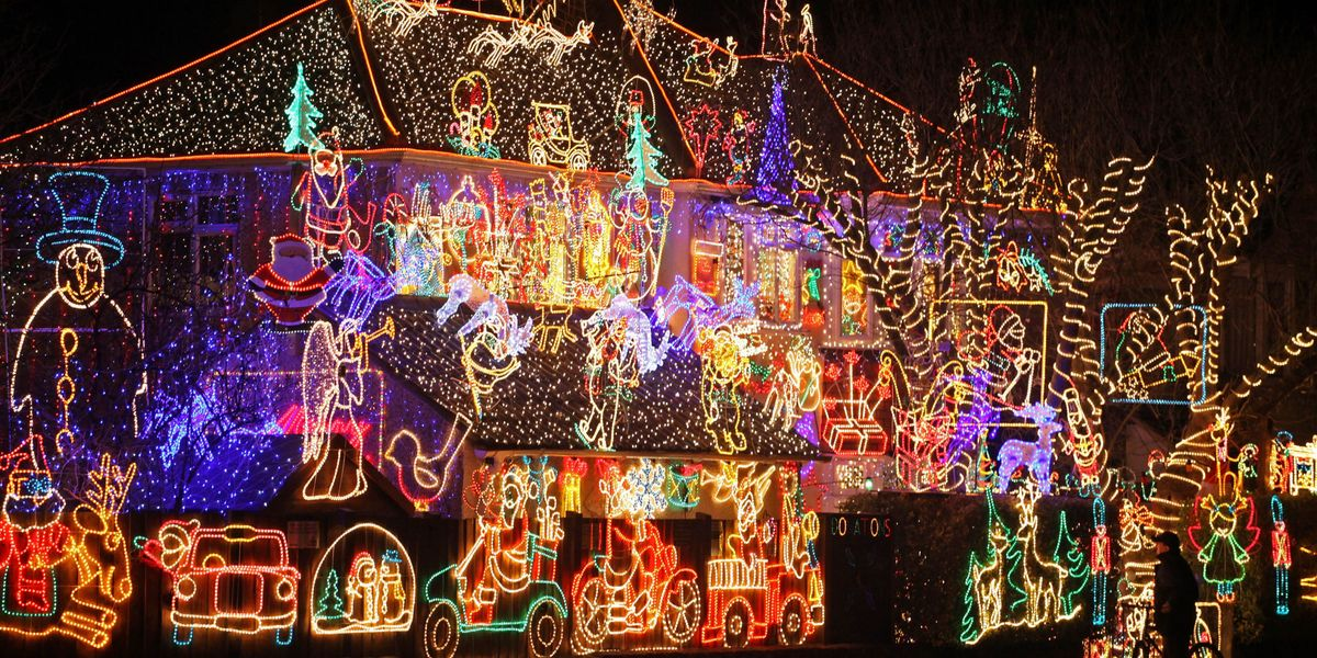 Crazy Outdoor Christmas Lights At Womansday Com Photos