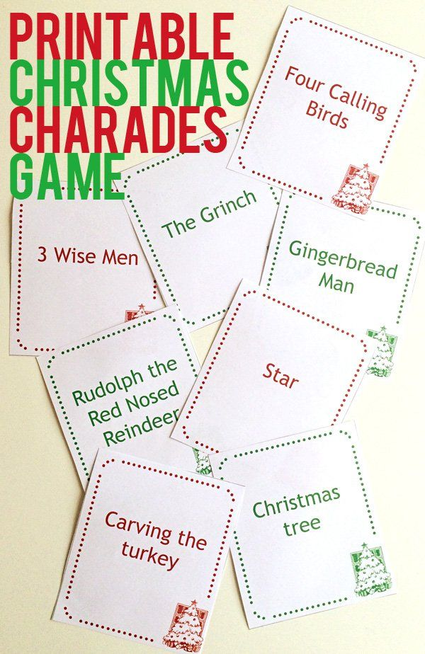 photo regarding Free Printable Christmas Games and Puzzles for Adults named 24 Exciting Xmas Social gathering Game titles for Little ones - Do-it-yourself Family vacation Bash