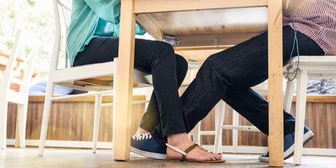 Wood, Comfort, Denim, Sitting, Slipper, Foot, Toe, Ankle, Sandal, Flip-flops,