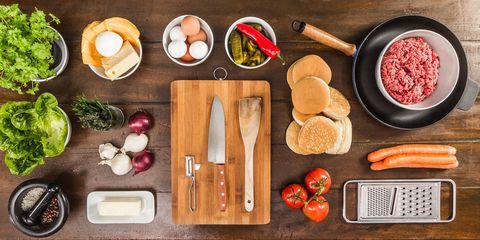 Food, Meal, Ingredient, Dishware, Tableware, Root vegetable, Dish, Cutting board, Kitchen utensil, Breakfast,