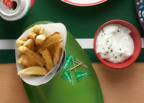 Crispy Pickles with Ranch Dip