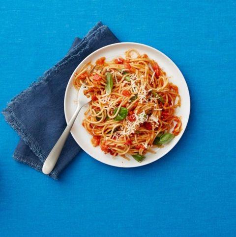One-Pot Spaghetti Marinara