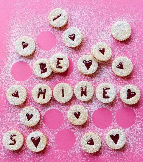 Sweet Cherry Linzer Torte Cookies