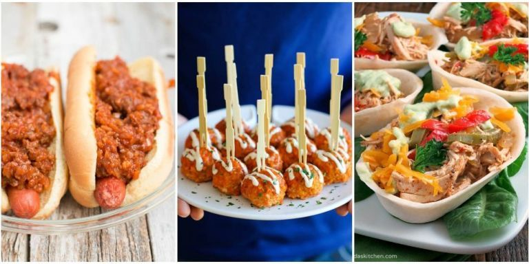25 easy super bowl appetizers slow cooker appetizer for Super bowl appetizers pinterest