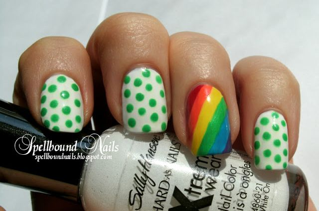 St Patricks Day Nails Green Nail Art Ideas