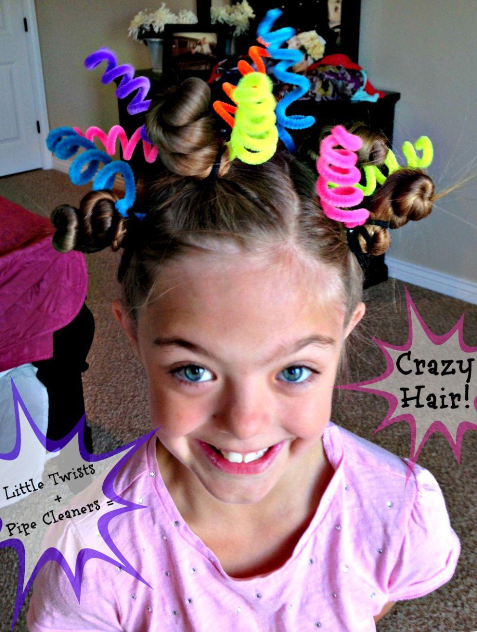 Crazy Hair Day Ideas , Wacky Hair Styles