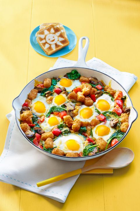 kid friendly breakfast recipes   egg and tater bake
