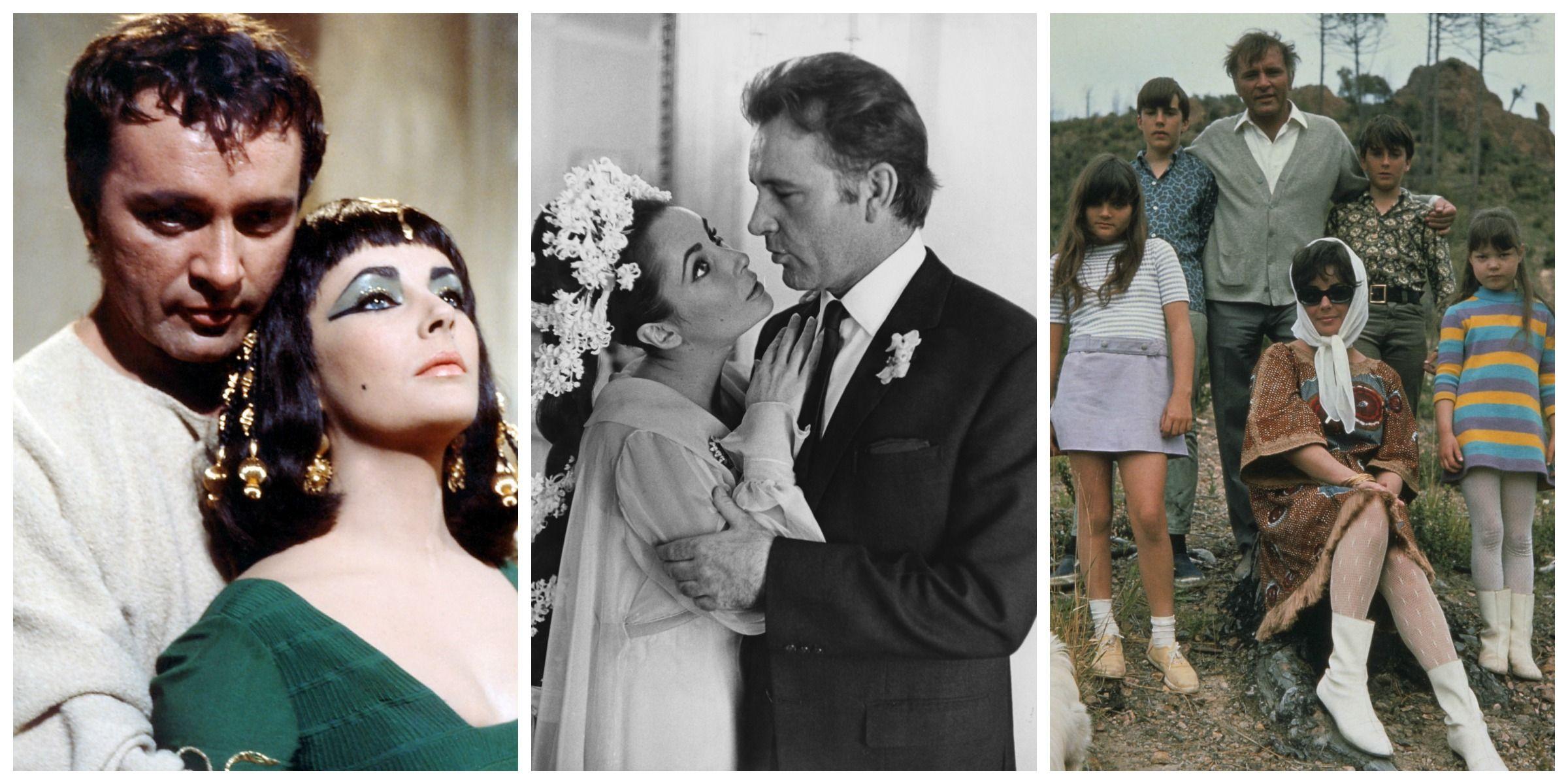 Elizabeth Taylor and Richard Burton Love Story - Elizabeth