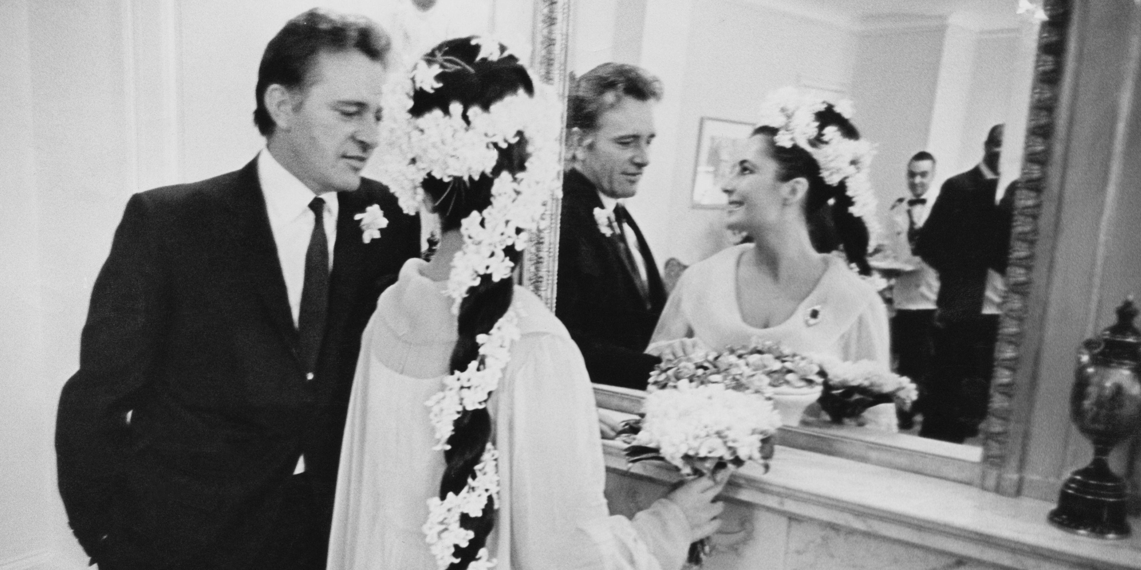 How many times did elizabeth taylor marry richard burton