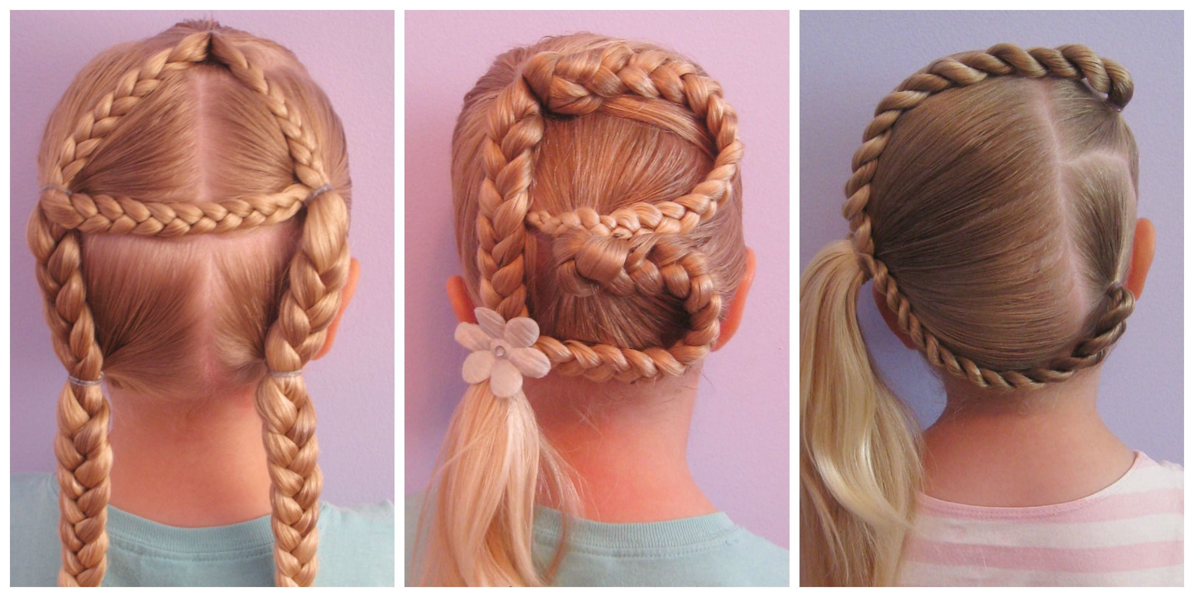 Mom S Creative Hair Braiding Idea Alphabet Braid Tutorials