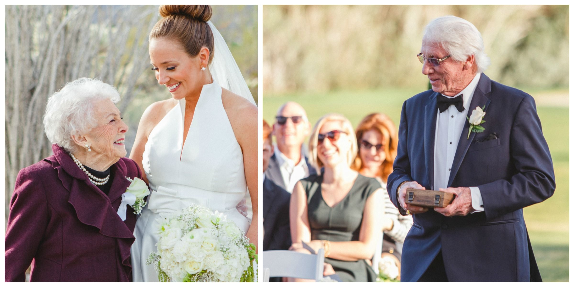 Watch Flower Grandpa Stole the Show at This Wedding video
