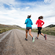 Cloud, Road, Recreation, Landscape, Exercise, Mammal, Running, Athletic shoe, Outdoor recreation, Highland,