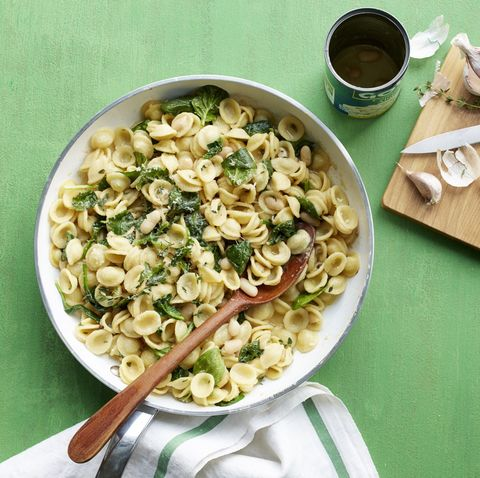 Orecchiette With White Beans And Spinach Recipe How To Make Orecchiette With White Beans And Spinach