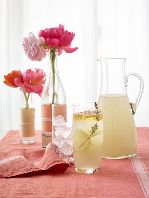 Sparkling Thyme Lemonade Recipe