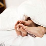 Comfort, Skin, Barefoot, Linens, Bedding, Bed sheet, Photography, Bed, Foot, Toe,