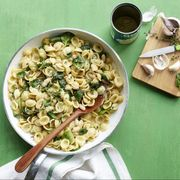 pasta recipes orecchiette with white beans and spinach