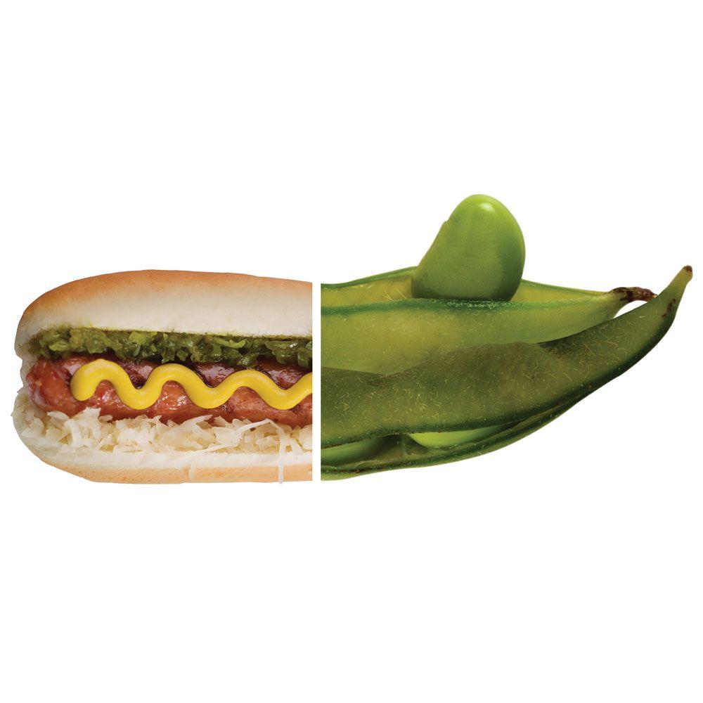 Hot Dog vs Edamame