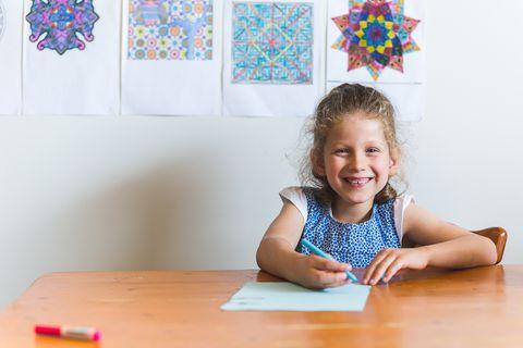 Table, Room, Baby & toddler clothing, Toddler, Education, Learning, Creative arts, Varnish, Desk, Homework,