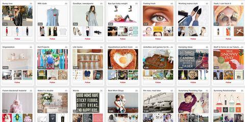 Pinterest Mom Boards