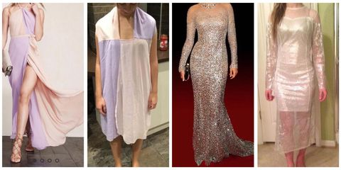 Clothing, Dress, Shoulder, Textile, Pattern, Formal wear, One-piece garment, Fashion, Neck, Grey,