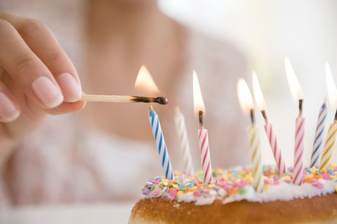 Finger, Birthday candle, Sweetness, Ingredient, Food, Dessert, Cake decorating supply, Cuisine, Baked goods, Cake,