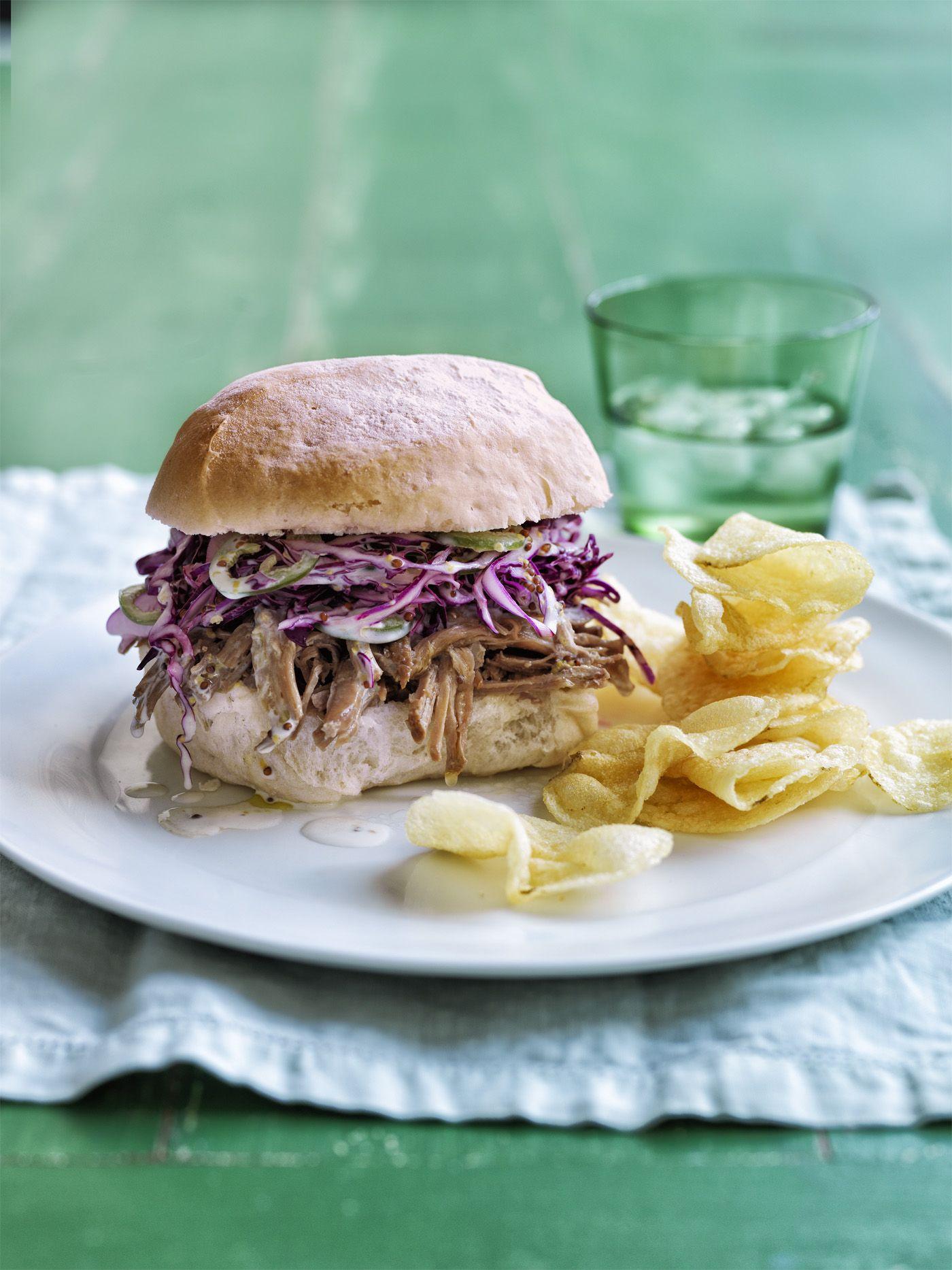 Watch Provençal Pork Sandwich video