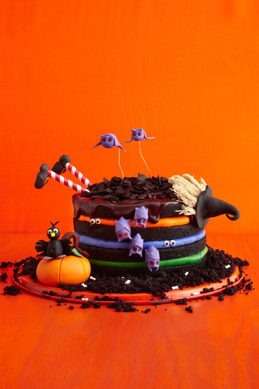 30 Easy Halloween Cakes Recipes & Ideas for Halloween Cake Decorating