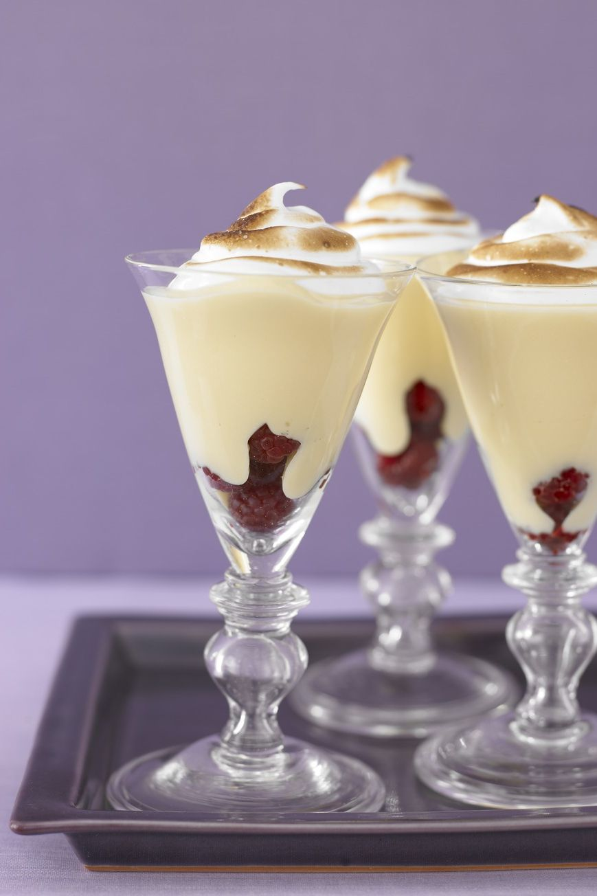 lemon meringue parfaits