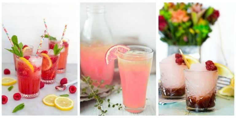 33 best summer drink recipes easy non alcoholic summer for Fruity mixed drinks recipes