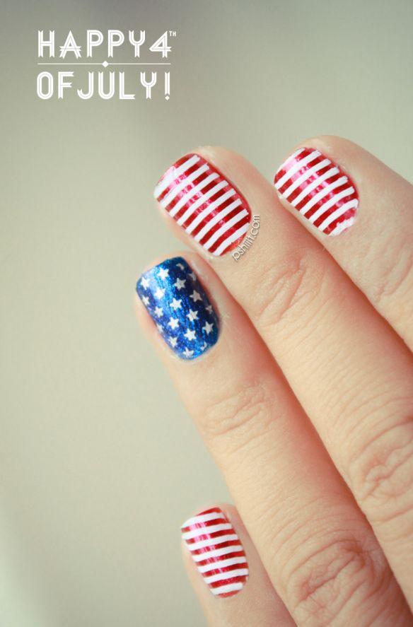 Memorial Day Nails - 4th of July Nails