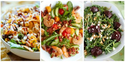 Salads Are Normally Thought Of As A Leafy Introduction To Your Meal That You Eat On Way Dinner S Main Attraction The Entrée