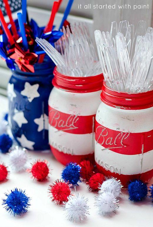 20 Easy 4th Of July Crafts Diy Ideas Patriotic American Flag