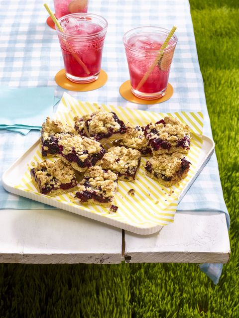Black-and-Blue Crumb Bars Recipe