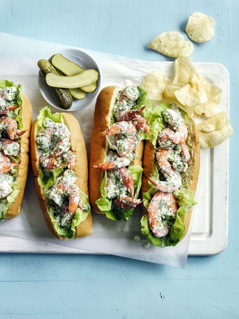 Shrimp Rolls 30-Minute Meal