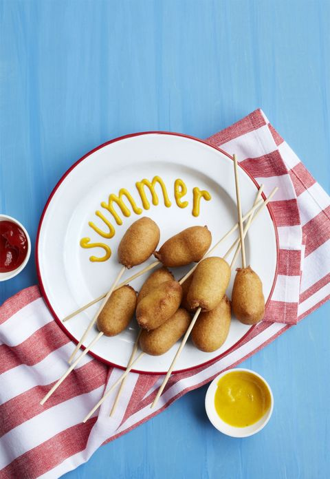 4th of july appetizers   corn pups recipe