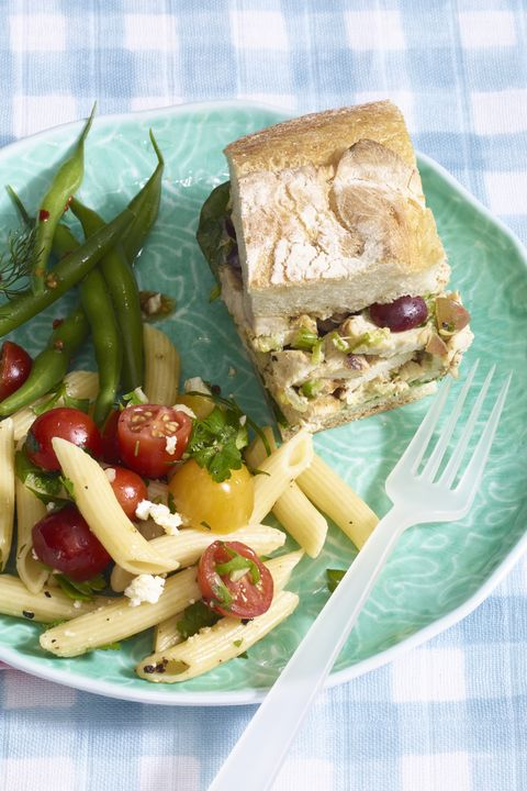 easy chicken dinner recipes  pressed grilled chicken salad sandwiches recipe