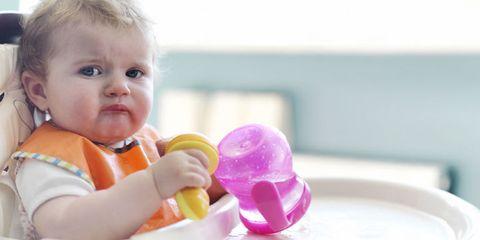 Child, Baby & toddler clothing, Ingredient, Toddler, Dessert, Plastic, Baby, Blond, Dairy, Frozen dessert,