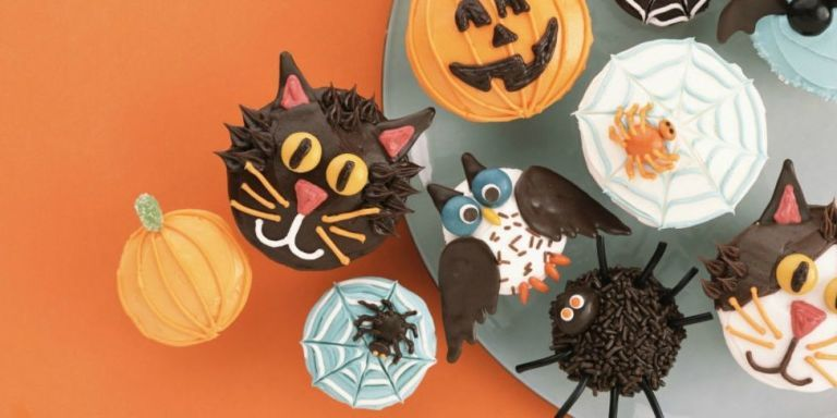 35 Halloween Cupcake Ideas - Recipes for Cute and Scary Halloween ...