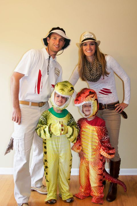 dinosaur trainers family halloween costumes