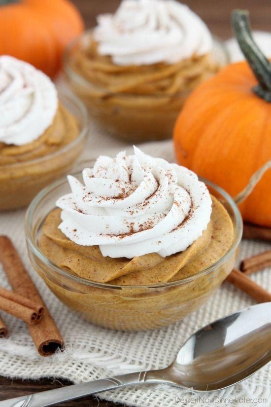 60 Easy Pumpkin Desserts Best Sweet Pumpkin Recipes For