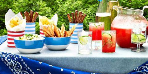 Food, Tableware, Fried food, Dishware, Cuisine, Drink, Ingredient, Dish, Produce, Serveware,