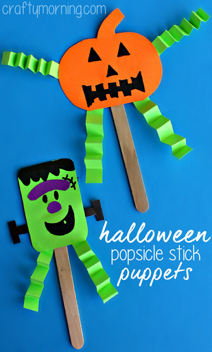 20 Easy Halloween Crafts For Kids