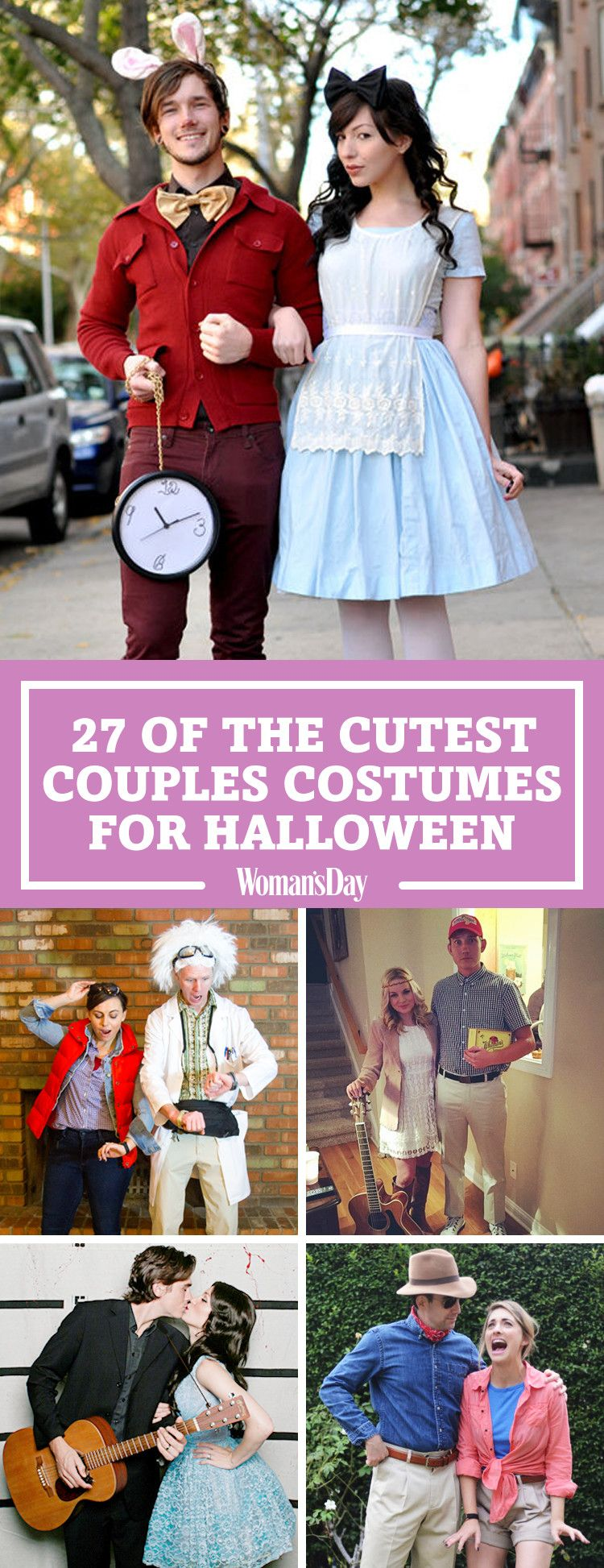 50+ Cute Couples Halloween Costumes 2017 - Best Ideas for Duo Costumes